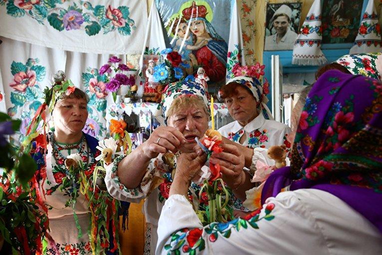 Праздник в Белорусской деревне Погост