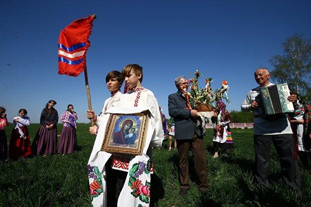 Фестиваль в Белорусской деревне Погост
