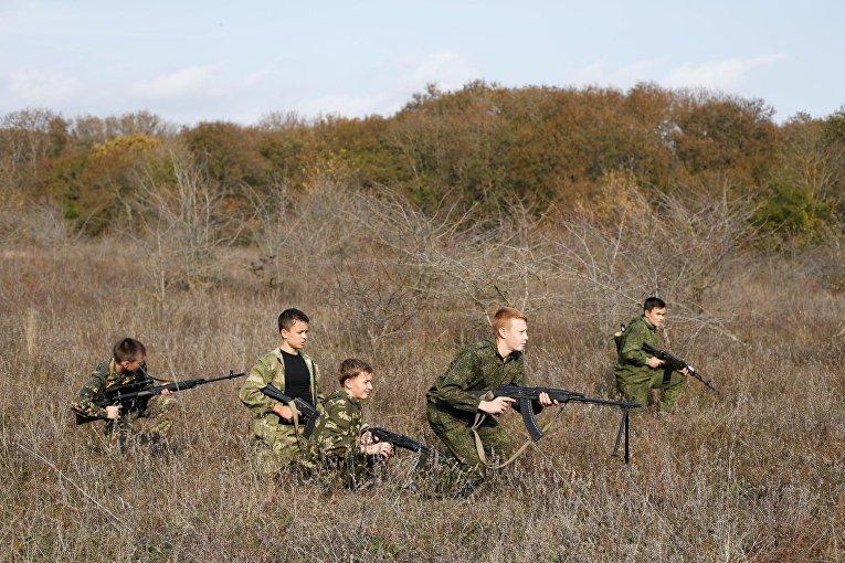 Школы юных патриотов России