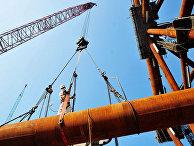 Строительство инфраструктуры оффшорной нефтяной инжиниринговой компании в Циндао