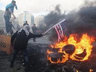 Акции протеста в Палестине против решения о признании Иерусалима столицей Израиля