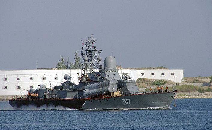 Ракетный катер Черноморского флота