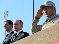 Президент РФ В. Путин посетил авиабазу Хмеймим в Сирии