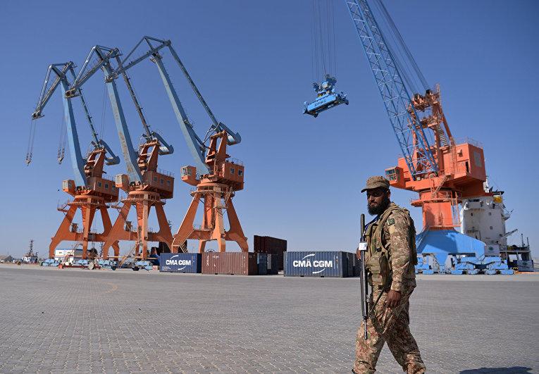 Порт Гвадар в Пакистане