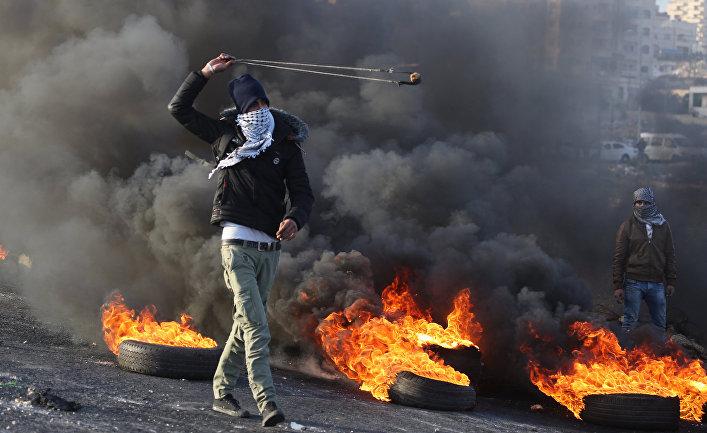 Ситуация на границе Палестины и Израиля