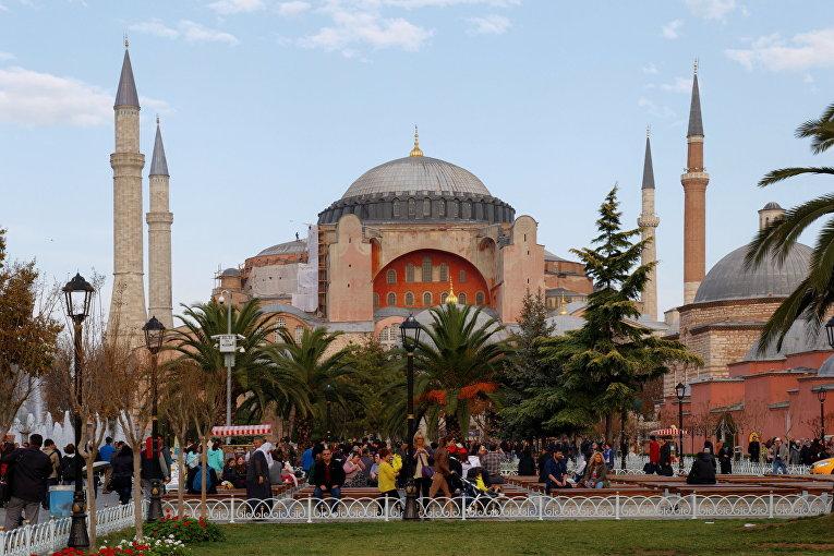 Собор Святой Софии в Стамбуле, Турция