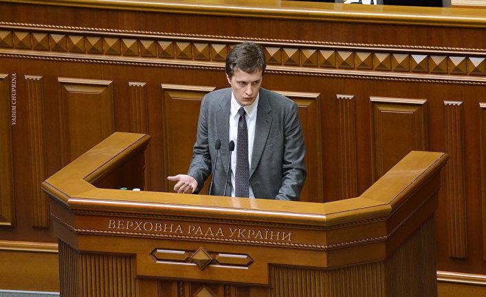 Алексей Порошенко. Верховная рада Украины