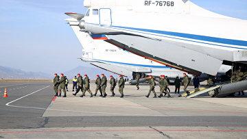 Батальон военной полиции вернулся из Сирии в Махачкалу