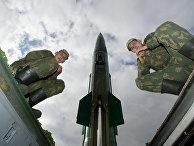 Тактический ракетный комплекс «Точка-М» под Калининградом