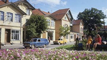 В старой части города