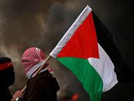 Акция протеста в Секторе Газа