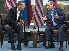 В.Путин встретился с Б.Обамой в рамках саммита G8