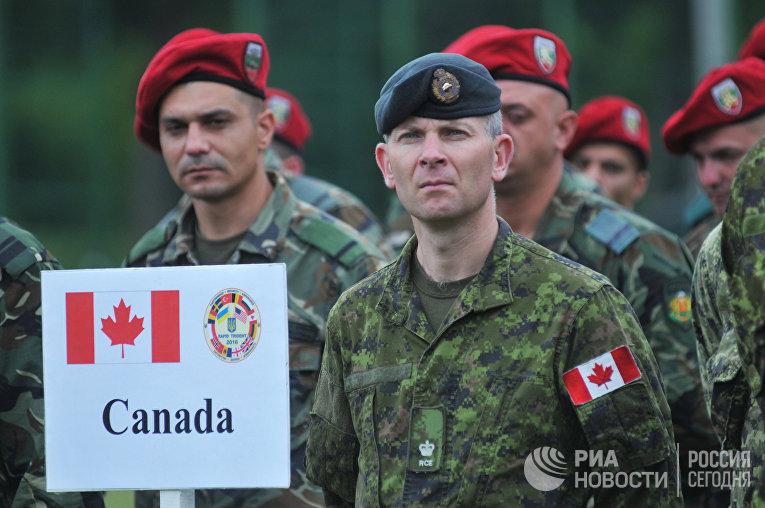 Международные военные учения Rapid trident-2016 во Львовской области