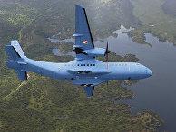 Самолет ВВС Польши C-295M производства EADS CASA