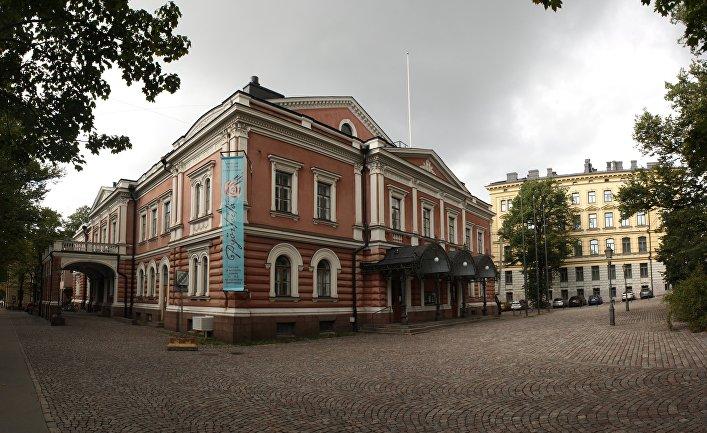 Александровский театр в Хельсинки, Финляндия