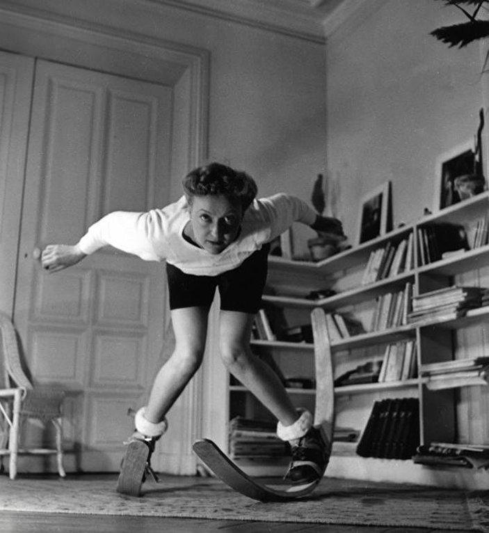 Домашние тренировки во Франции