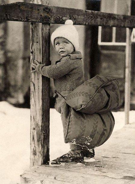 Голландский мальчик c «подушкой безопасности»