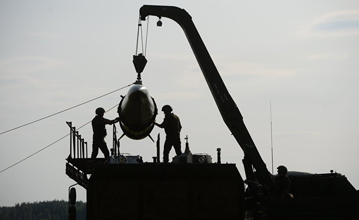 """Развёртывание оперативно-тактического ракетного комплекса """"Искандер-М"""""""