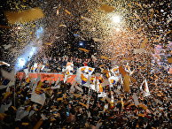 """Митинг сторонников партии """"Граждане"""" в Барселоне"""