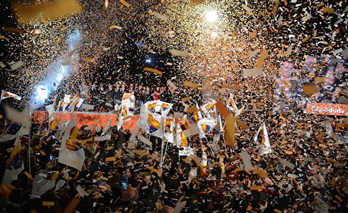 «Испанское государство побеждено»: Пучдемон прокомментировал результаты выборов