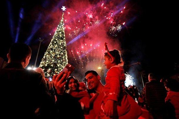 Рождественский фестиваль в Бейруте