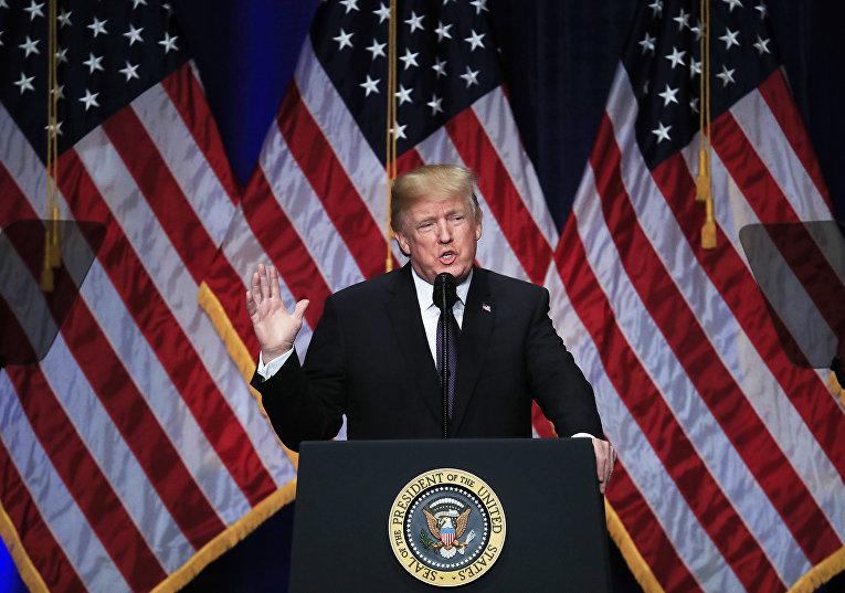 Президент США Дональд Трамп излагает принципы новой стратегии национальной безопасности