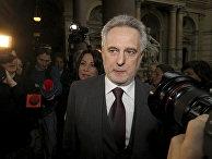 Украинский бизнесмен Дмитрий Фирташ в суде Вены