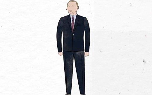 Язык тела: человек действия Владимир Путин