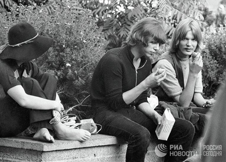 Хиппи начала 70-х