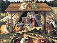 Сандро Боттичелли «Мистическое Рождество» (1501)