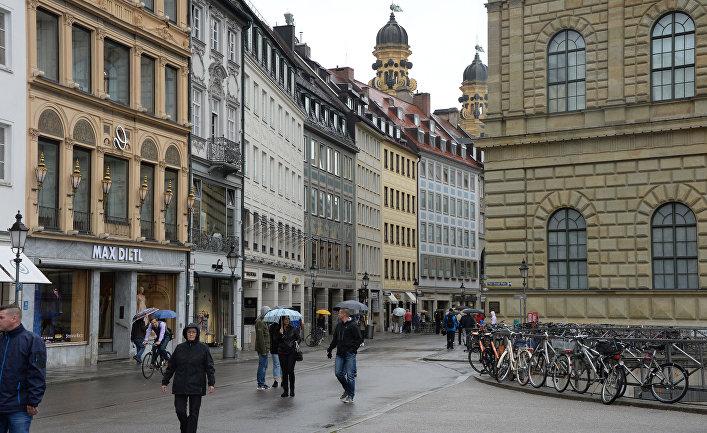 Театральная площадь в Мюнхене