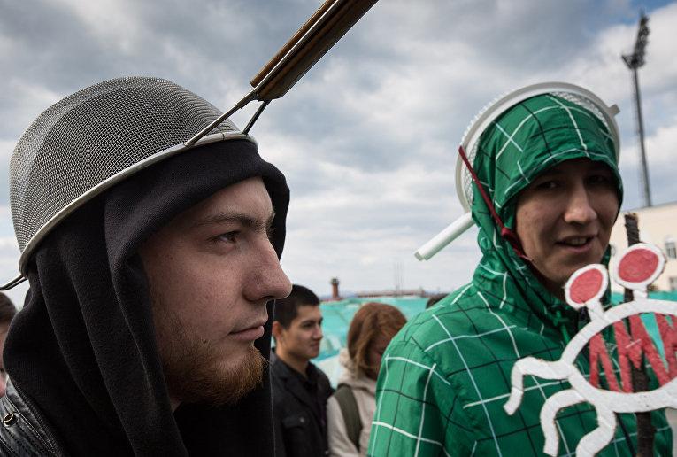 Пастафарианцы во Владивостоке
