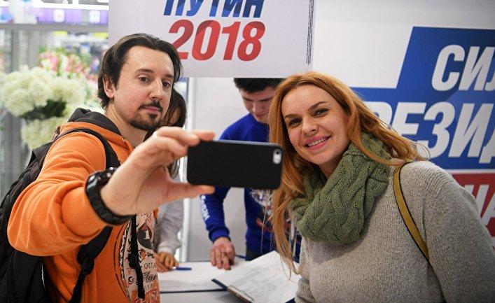 Начался сбор подписей в поддержку выдвижения В. Путина на президентских выборах