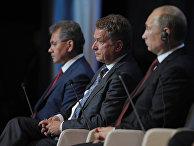 Владимир Путин и президент Финляндии Саули Ниинисте