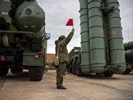 """Комплекс ПВО С-400 """"Триумф"""" заступил на боевое дежурство в Севастополе"""