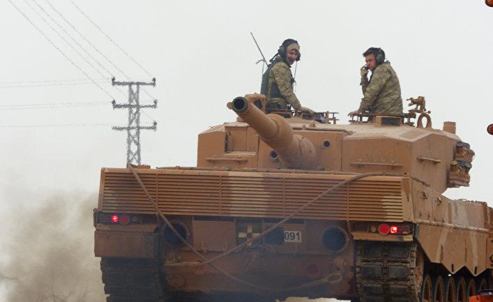 СМИ Турции говорили о ликвидации боевиков-граждан США всирийском Африне