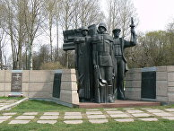 Kомпозиция советских воинов в память о павших воинах в Клайпеде, Литва