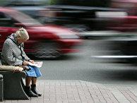 Автомобильное движение в Киеве