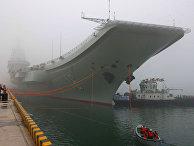 Китайский авианосец «Ляонин»