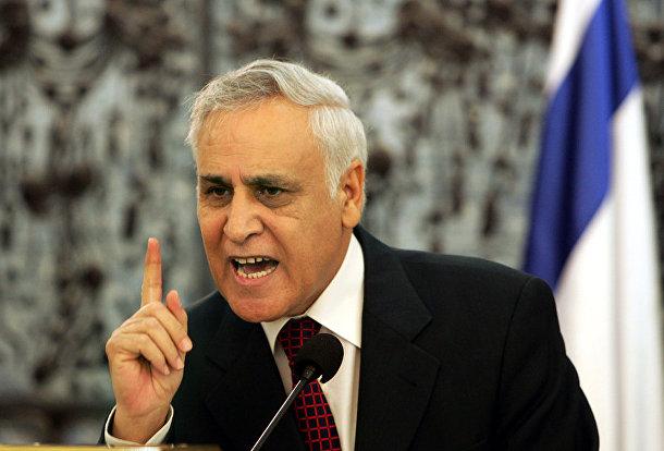 восьмой президент Израиля Моше Кацав
