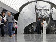 """Вестибюль станции метро """"Достоевская"""""""