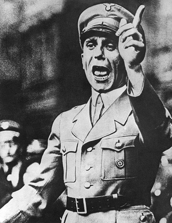 Йозеф Геббельс в августе 1934 года