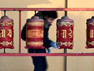 """Ритуал очищения """"Дугжууба"""" в преддверии буддийскго Нового года"""