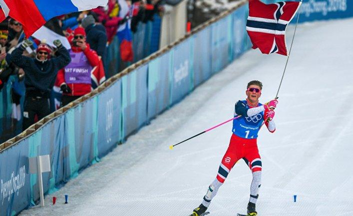 Русские лыжники завоевали серебро Олимпиады вкомандном спринте