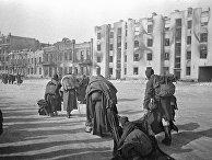 Пленные фашисты покидают Сталинград